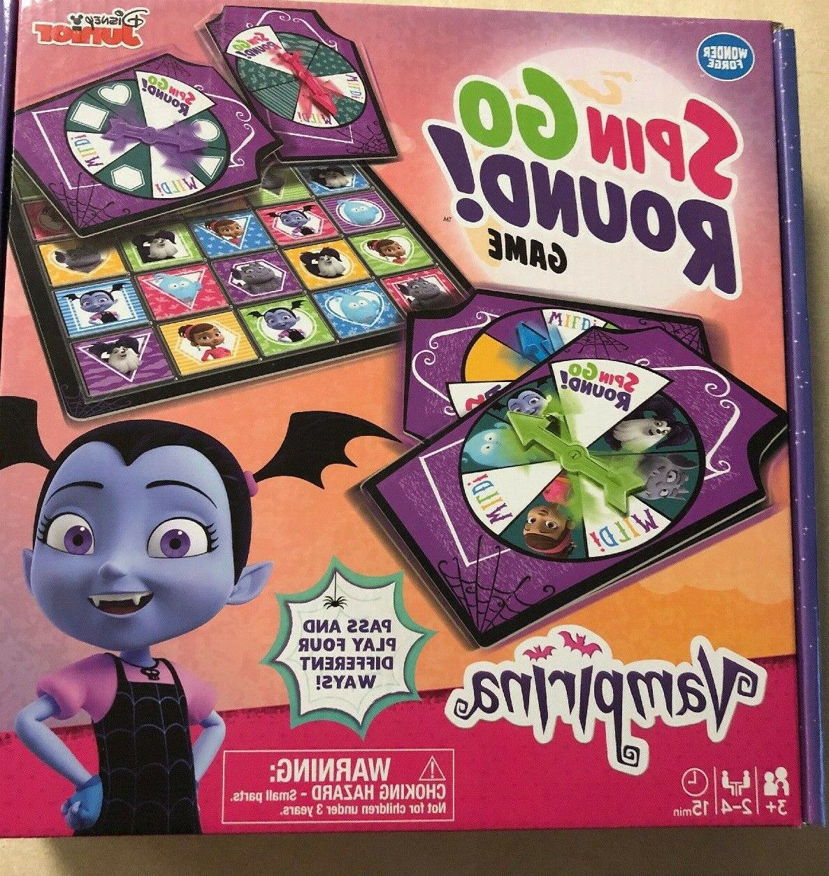 vampirina spin go round game disney junior