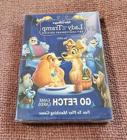 Lady and the Tramp - Disney - GO FETCH Card Matching Game -