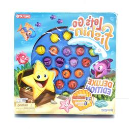 Let's Go Fishing Deluxe Edition Kids Board Game Deep Sea Cre