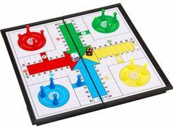 Ludo Go Board Folding Travel Magnetic Ludo Set Parcheesi Boa