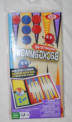 Ideal Magnetic Go! Backgammon Travel Game