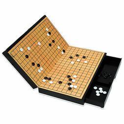 MYUNGINLAND Magnetic Go Board Game WeiQi Baduk Piece Stones