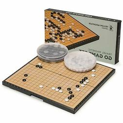 Yellow Mountain Imports Magnetic Go Game Set with Single Con
