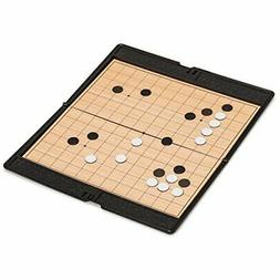 Magnetic Travel Go Game Set with Folding Board (13x13 Playin