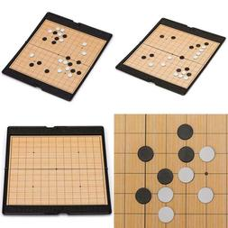 magnetic travel go game set with folding
