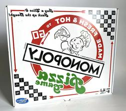 MONOPOLY PIZZA Board Game Made Fresh & Hot To Go In Pizza Bo