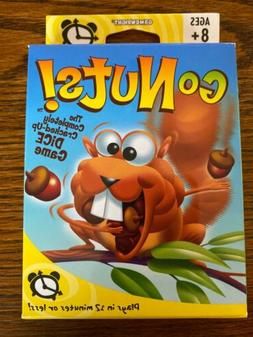 NEW Gamewright Go Nuts The Completely Cracked Up Dice Game 2