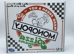 NEW Monopoly Pizza Board Game Made Fresh & Hot To Go Sealed