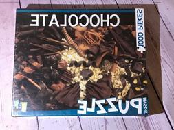 NEW/SEALED - GO GAMES CHOCOLATE CANDY - 1000 PIECE JIGSAW PU