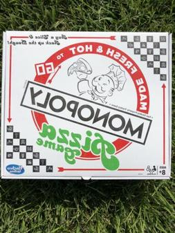 NEW SEALED Hasbro Monopoly Pizza Board Game 2018 - Authentic