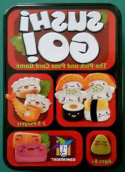 New:  GameWright SUSHI GO! Pick & Pass Card Game - ages 8+