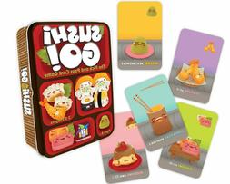 🍣 Sushi Go! - The Pick and Pass Card Game Tin Box, By Ga