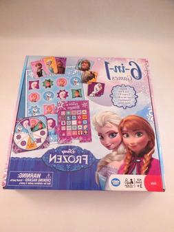 NIB Disney's Frozen 6-in1 Games by Wonder Forge