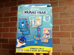 Pinkfong Baby Shark™ 4-in-1 Game Set w/Rummy, Dominoes, Go
