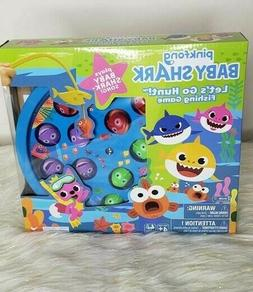 Pinkfong Baby Shark Let's Go Hunt! Fishing Game Plays Baby S