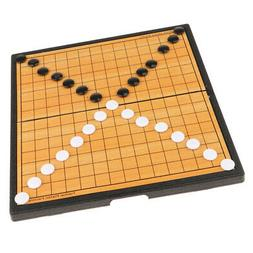 Plastic Chinese Go Game Chess Game Set Travel Education Toys