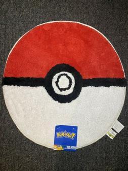"Pokemon Ball Bath Rug 26"" Diameter Pokémon Go  Room Decor"