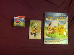 Pokemon: Let's Go Eevee! Switch Bundle Steelbook, Game, Poke