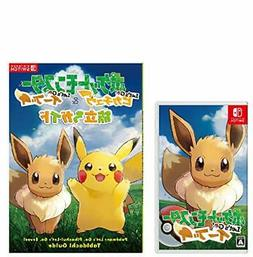 ! Pokemon Let's Go Eevee - Switch + departure Guided