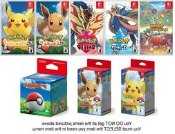 Pokemon Mystery Dungeon / Sword / Shield / Eevee / Pikachu -