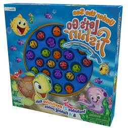 Pressman Let's Go Fishin' Under the Sea Game for Kids Ages 4