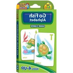 School Zone Go Fish Alphabet Game Cards  - Go Fish Alphabet