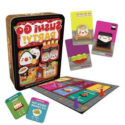 Sushi Go Party! Card Game in Metal Tin from Gamewright Ages