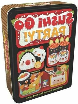 Sushi Go Party! Players 2-8 Ages 8 and Up Deluxe Pick and Pa