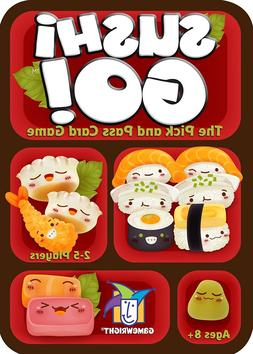 GameWright Sushi Go! Pick & Pass Card Game 8+