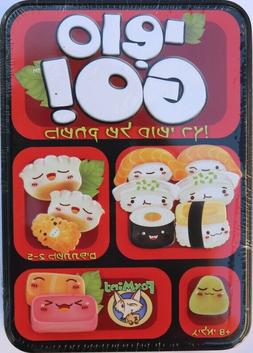Sushi Go! The Pick and Pass Card Game Hebrew Version Tin Box