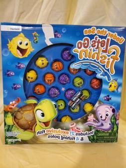 Pressman Under the Sea Let's Go Fishin' Board Game Ages 4 &