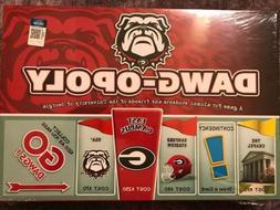 University of Georgia Dawgopoly New Factory Sealed Game UGA