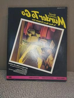 Vintage Murder To Go Game Ideal 1985 David Landaus Mystery I
